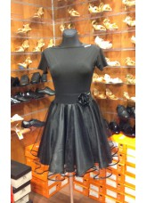 Dance Me Блуза женская БЛ396, масло, черный