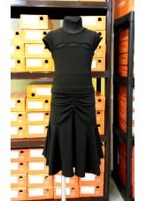 Dance Me Блуза детская БЛ285-6, масло / сетка черный