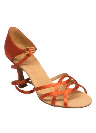 Ray Rose Обувь женская для латины 840-X Gobi, Dark Tan Satin
