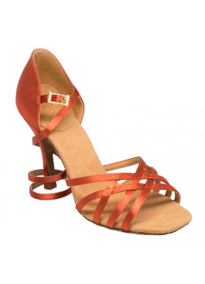 Ray Rose Обувь женская для латины 860-X Kalahari ULTRA-FLEX, Dark Tan Satin