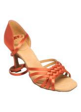 Ray Rose Обувь женская для латины 869-X Moonglow, Dark Tan Satin