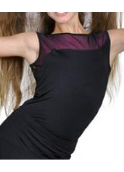 Dance Me Блуза женская БЛ119-2, масло / сетка, розовый