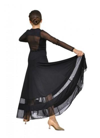 Dance Me Платье женское ПС90, масло / сетка, черный