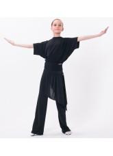 Dance Me Брюки детские БРЛ5, кристал, черный