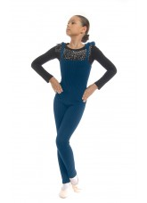 Dance Me Комбинезон женский, шерсть, синий