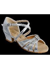 Dance Me Обувь детская БК 2001, серебро, кожа искусственная