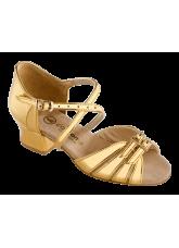 Обувь блок каблук 2002 Dance.me, Украина, золото голограмма