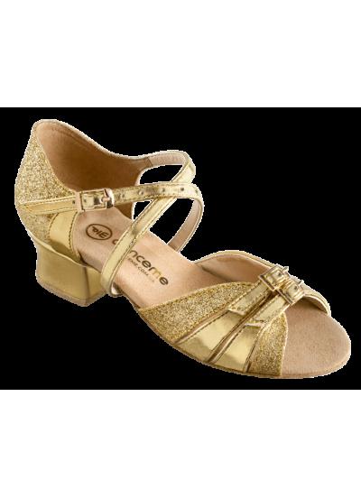 Обувь блок каблук 2002 Dance.me, Украина, золото