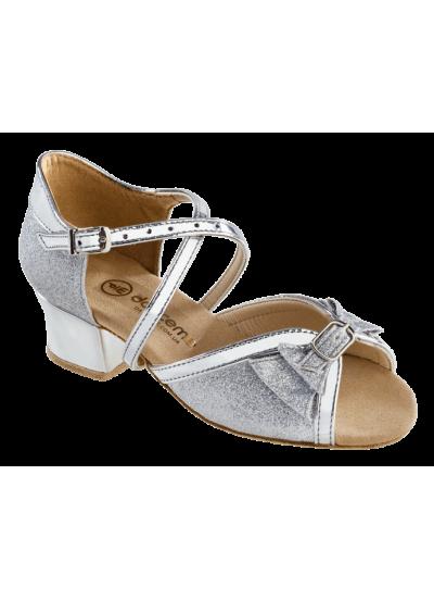 Dance Me Обувь для девочки 2004, серебро, голограмма