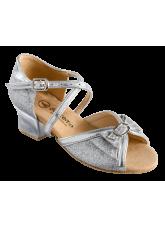 Dance Me Обувь для девочки 2004, серебро, кожа искусственная