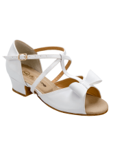 Обувь блок каблук 2010 Dance.me, Украина, БК, Белый
