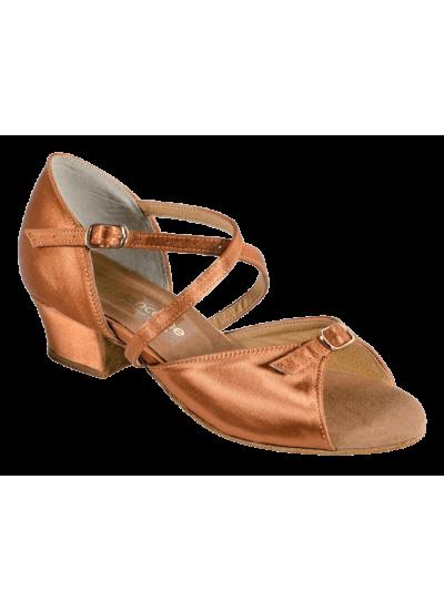 Обувь блок-каблук 2061 Dance.me, Украина, БК, Кедр, Сатин