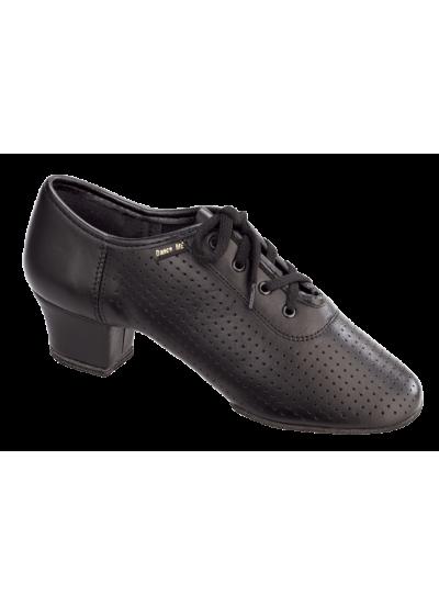Женская танцевальная обувь для тренировок Dance Me 4003, черная кожа
