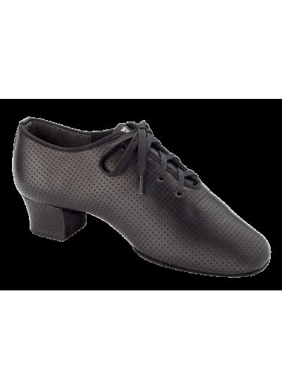 Женская танцевальная обувь для тренировок DANCEME 4008, черная кожа