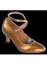 Dance Me Обувь женская для стандарта 4102, загар кожа
