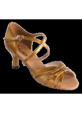 Dance Me Обувь женская для латины 4227, загар кожа