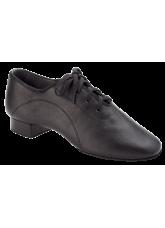 Dance Me Обувь для мальчика Флекси 5103, для стандарта, черная кожа