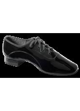 Dance Me Обувь мужская для стандарта Флекси 5103, черный лак
