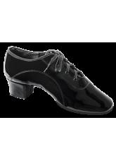 Dance Me Обувь мужская для латины 5207, черный лак