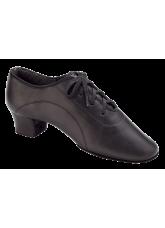 Dance Me Обувь мужская для латины Флекси 5207, черная кожа