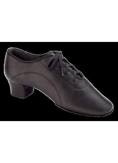Dance Me Обувь для мальчика Флекси 5207, для латины, черная кожа