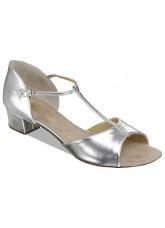 Supadance Обувь детская для девочек 1006, Silver Coag