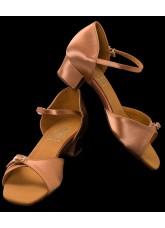 Supadance Обувь детская для девочек 1005, Dark Tan Satin