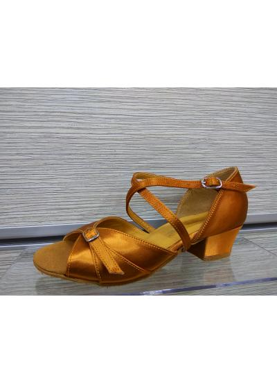 Обувь блок-каблук 2066 Dance.me, Украина, БК, Кедр, Сатин