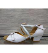Обувь блок каблук 30366 Dance.me, Украина, БК, Белый