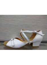 Обувь блок каблук 2066 Dance.me, Украина, БК, Белый
