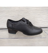 Обувь для мальчика МС1 универсальная, черный кожа