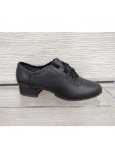 Обувь для мальчика 5101 универсальная, черный кожа
