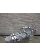 Обувь блок каблук Б2 Dance.me, Украина, серебро