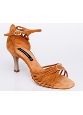 Dance Naturals Обувь женская для латины Art. 884 Simple Venere, Tan Suede