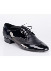 Galex Обувь мужская Пино для стандарта, черный лак/кожа