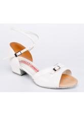 Galex Обувь детская Полина БК, белый лак