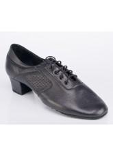 Обувь детская для мальчика латина Галекс-флекси Galex, черный кожа