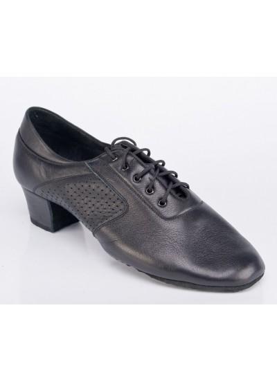 Galex Обувь мужская для латины Галекс-флекси, черный кожа