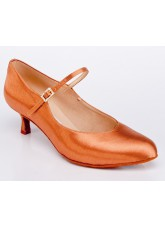 Galex Обувь женская для стандарта Кристи, загар сатин