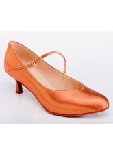 Galex Обувь женская для стандарта Инга, загар сатин