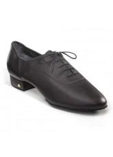 Dance Naturals Обувь мужская для стандарта Art. 117, Black Leather