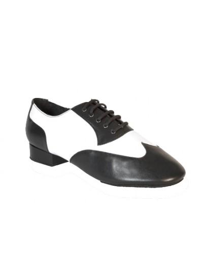 Ray Rose Обувь мужская для стандарта 338 Tundra, Black & White Leather
