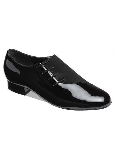 Supadance Обувь мужская для стандарта 6901, Black Patent/Nubuck
