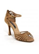 Dance Naturals Обувь женская для латины Art. 204, Tan Suede