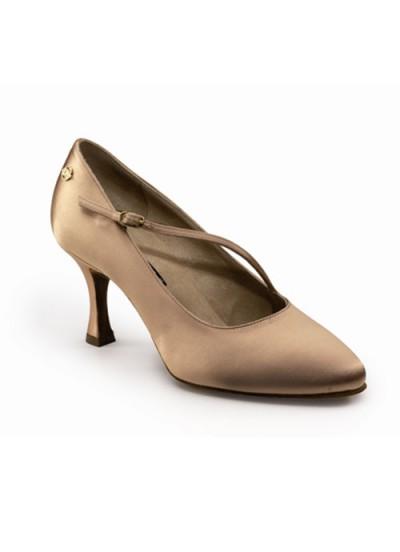 Dance Naturals Обувь женская для стандарта Art. 220, Tan Satin