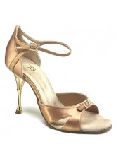 Dance Naturals Обувь женская для латины Art. 886 Venere, Tan Bronze Satin