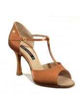Dance Naturals Обувь женская для латины Art. 200, Brown Satin