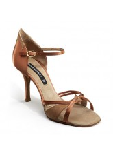 Dance Naturals Обувь женская для латины Art. 509 Stella, Brown Satin