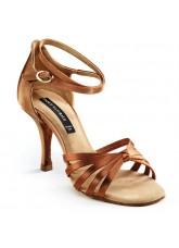 Dance Naturals Обувь женская для латины Art. 27, Brown Satin