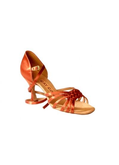 Ray Rose Обувь женская для латины 869 Moonglow, Dark Tan Satin